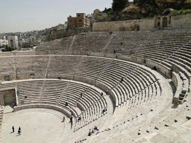 Римският театър на Аман