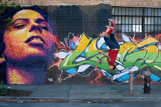 И все пак, графитите в сравнение с паркур, нищо не струват