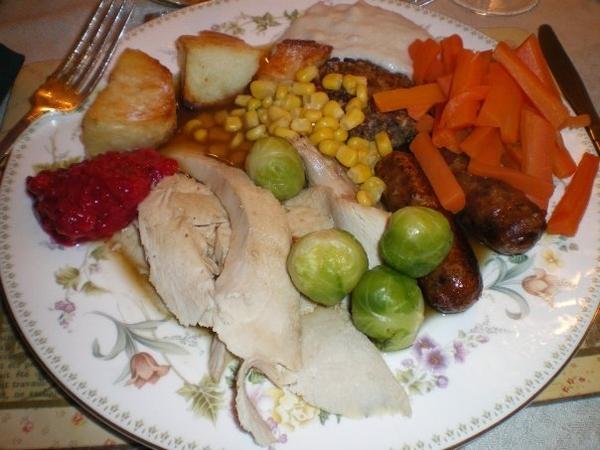 Коледната вечеря в Уелс