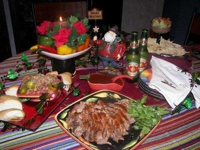 Коледната вечеря в Мексико