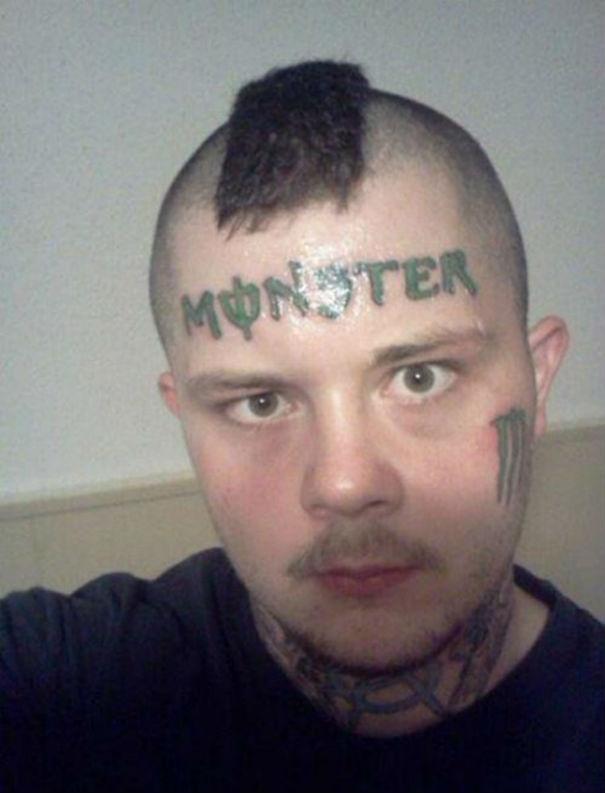 """Татуировка """"Чудовище"""""""