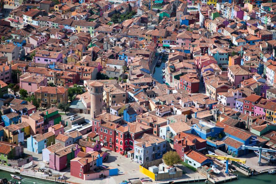 21 снимки, показващи света от много високо