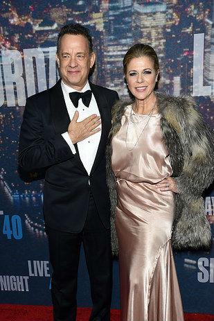 14. Том Ханкс и Рита Уилсън, женени от 1988 г. насам