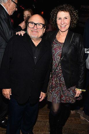 24. Дани Де Вито и Рия Пърлман, женени от 1982 г. насам.