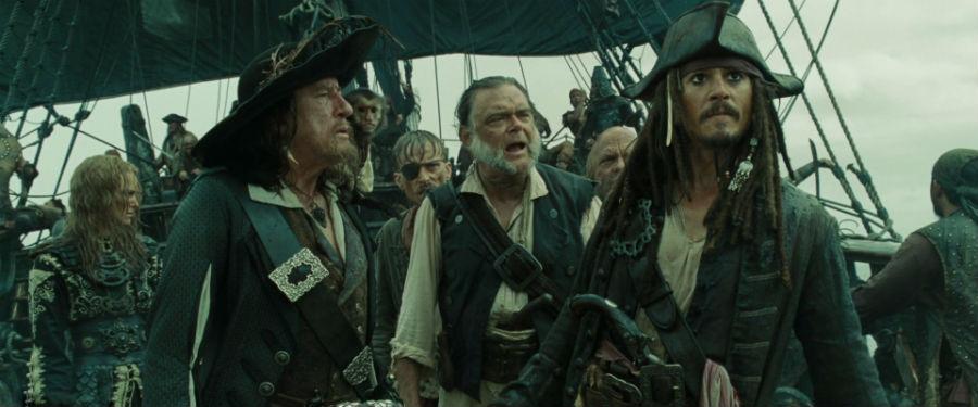 Карибски пирати - Проклятието на черната перла - снимка от филма